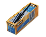 Fellowes Plastic Comb Bindings, 0.312 Inch, 40-Sheet Capacity, Navy Blue, 100 per Pack (52506)