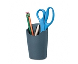 Fellowes Plastic Partition Additions Pencil Cup, 3 1/2w x 5 9/16h, Graphite
