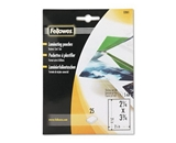 Fellowes Pouches For Hot Laminating Machines, 25/Pack - Sold as 2 Packs of - 25 Total of 50