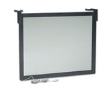 Fellowes Privacy Glare Filter for 16-17 CRT/LCD, Antirad./Static/Glare, Black