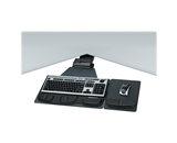 Fellowes Professional Series Executive Corner Keyboard Tray - keyboard/mouse tray (8035901)