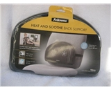 Fellowes(R) Mini Heat And Soothe Back Support, Black (2 pack)