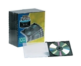 Fellowes Slim Line CD Jewel Cases SHPMM1130