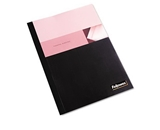 Fellowes Thermal Binding System Covers, 60 Sheets, 11-1/8 x 9-3/4, Clear/Black,