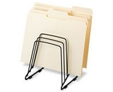 Fellowes Wire Step File II RACK, STEPFILE, WRKSTN, BK (Pack of8)