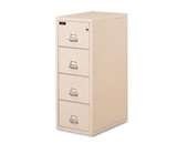 FireKing 421572PA 22-Inch Insulated 4-Drawer Vertical File with 2-Hour Protection, Parchment