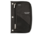 Five Star Xpanz Zipper Pencil Pouch, Black (50518)