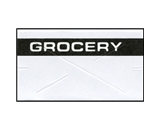 Garvey Preprinted G2212 White/Black Grocery Labels for a 22-6, 22-7 and 22-8 Labeler
