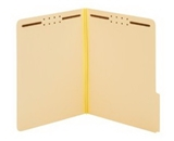 Globe-Weis Antimicrobial Pressboard Fastener Folder, 1-Inch Expansion, 2 Fasteners, Letter Size, 25 Folders Per Box (24931AM)