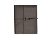 Grandluxe Brown Soft PU Leather Cover Journal, 4.1 x 5.8 Inches (600198)
