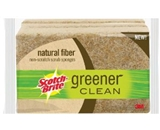 Greener Clean Non-Scratch Scrub Sponge 4 1/2 x 2 8/10 3/Pack