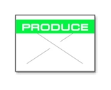 Garvey Preprinted GX1812 White/Green Produce for a 18-6 Labeler