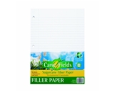 Canefields Sugarcane Fiber Filler Paper, Legal Ruled, 3-Hole Punched, 8.5 x 1