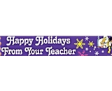 Happy Holidays From Your Teacher Christmas School Pencil. 36 Each A6026