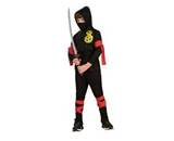 Haunted House Child-s Black Ninja Costume, Small