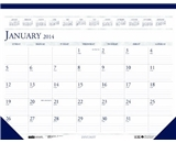House of Doolittle 22 X 17 Inches Desk Pad Calendar 12 Months January 2014 to December 2014, Leatherette Strip at the Top, Recycled (HOD150HD)