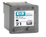 Printer Essentials for HP 21 - HP Deskjet F300 Series/3900 Series/D2300 Series - Black - RM9351 Inkjet Cartridge