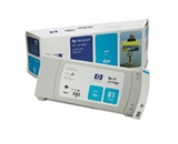 Printer Essentials for HP 81 Designjet 5000 5500 5500 5500PS RM4931A Inkjet Cartridge