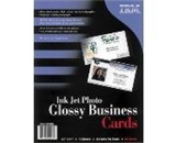 Printer Essentials for Impresso Paper Photo Glossy Business Cards 8.5- x 11- - 01P4886