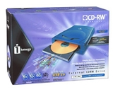 Iomega External 16x10x40 USB 2.0 CD-RW Drive