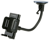 Kensington Universal Black Windshield/Vent Car Mount for Smartphones - iPhone 5/4S/4 and Samsung Galaxy S3