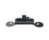 Keyboard Tray, Adjust., 21-5/8- Track, 19-1/16- x8-3/16-, GRPH