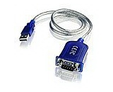 Lathem USB to Serial Adapter Cable - USBTOSER