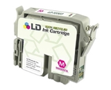 LD Remanufactured Replacement for Epson T032320 (T0323) Magenta Pigment Based Ink Cartridges for the Stylus C70 & C80