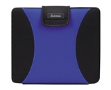 Kantek LGCC415B Neoprene Laptop Bag for up to 15.4-Inch Notebook Computers - Blue/Black