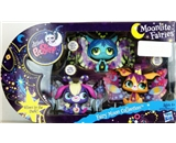Littlest Pet Shop EXCLUSIVE Moonlite Fairies - Fairy Moon Collection - Glow in the Dark!