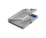 Locking Storage Clipboard, 8 1/2- x 11- - Clear Acrylic - Vaultz - VZ00164-CLR