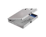 Locking Storage Clipboard, 8 1/2- x 11- - Treadplate - Vaultz - VZ00698
