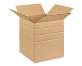 10- x 10- x 12- Multi-Depth Corrugated Boxes (Bundle of 25)