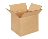 10- x 8- x 8- Multi-Depth Corrugated Boxes (Bundle of 25)