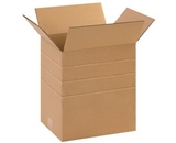 11 1/4- x 8 3/4- x 12- Multi-Depth Corrugated Boxes (Bundle of 25)