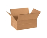 11 3/4- x 8 3/4- x 4 3/4- Multi-Depth Corrugated Boxes (Bundle of 25)