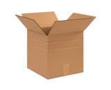 12- x 12- x 12- Multi-Depth Corrugated Boxes (Bundle of 25)