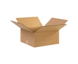 12 1/2- x 12 1/2- x 6- Multi-Depth Corrugated Boxes (Bundle of 25)