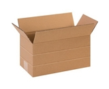 12- x 6- x 6- Multi-Depth Corrugated Boxes (Bundle of 25)