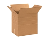 12 1/4- x 9 1/4- x 12- Multi-Depth Corrugated Boxes (Bundle of 25)