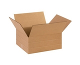 14- x 12- x 6- Multi-Depth Corrugated Boxes (Bundle of 25)
