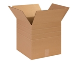 14- x 14- x 14- Multi-Depth Corrugated Boxes (Bundle of 25)