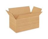 14- x 8- x 6- Multi-Depth Corrugated Boxes (Bundle of 25)