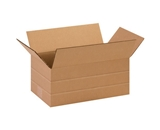 14 1/2- x 8 3/4- x 6- Multi-Depth Corrugated Boxes (Bundle of 25)