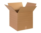 15- x 15- x 15- Multi-Depth Corrugated Boxes (Bundle of 25)