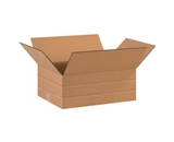 16- x 12- x 6- Multi-Depth Corrugated Boxes (Bundle of 25)