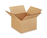 6- x 6- x 4- Multi-Depth Corrugated Boxes (Bundle of 25)