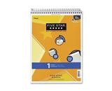 FiveStar 6182 Wirebound Notebook, College Rule, Letter, 100 Sheets