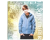 Mead Justin Bieber 1-Inch Binder, Gold Design (72607)