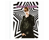 Mead Justin Bieber Composition Book, 80CT Wide Rule, Star Design (72619)